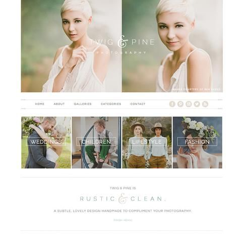 TWIG & PINE PROPHOTO 5 TEMPLATE