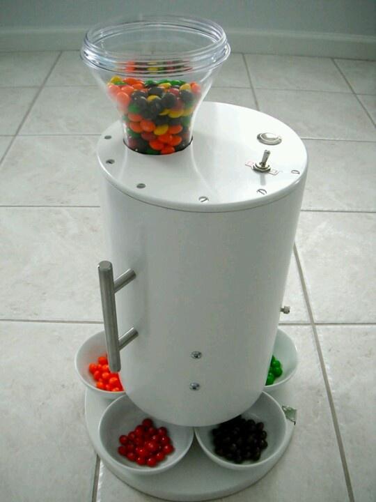 Skittles sorting machine!