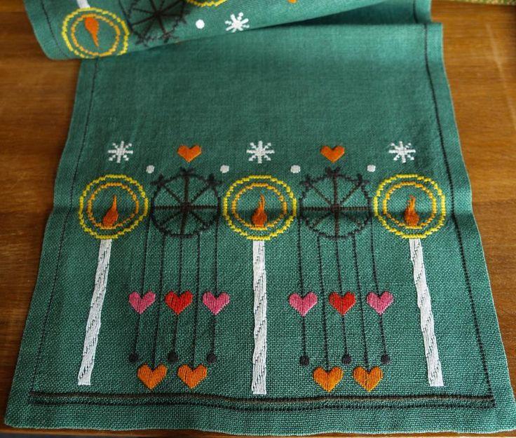 Duk, Ljus och hjärtan på grönt linne, Retro 1970-talet
