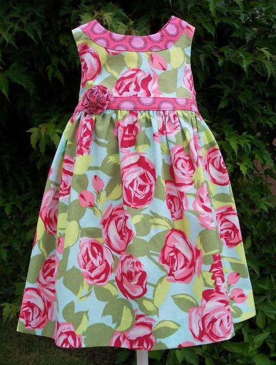 PATRÓN de vestido de la muchacha, dimensiones para adaptarse a las edades 2-6, Lillie Mae Dress, descarga digital instantánea, imagen 30 foto tutorial