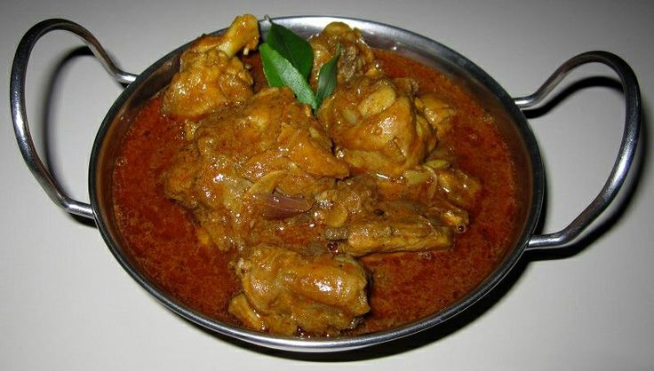 Kerala Nadan Chicken Curry <3