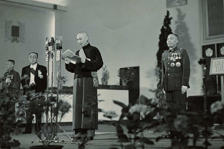 Chiang Kai-shek's inauguration speech as the first president of the Republic of China under the 1948 constitution [965x640] http://ift.tt/2giEU1k