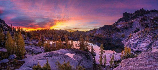 Leprechaun Sunrise.  photo by mikereidphotography.com