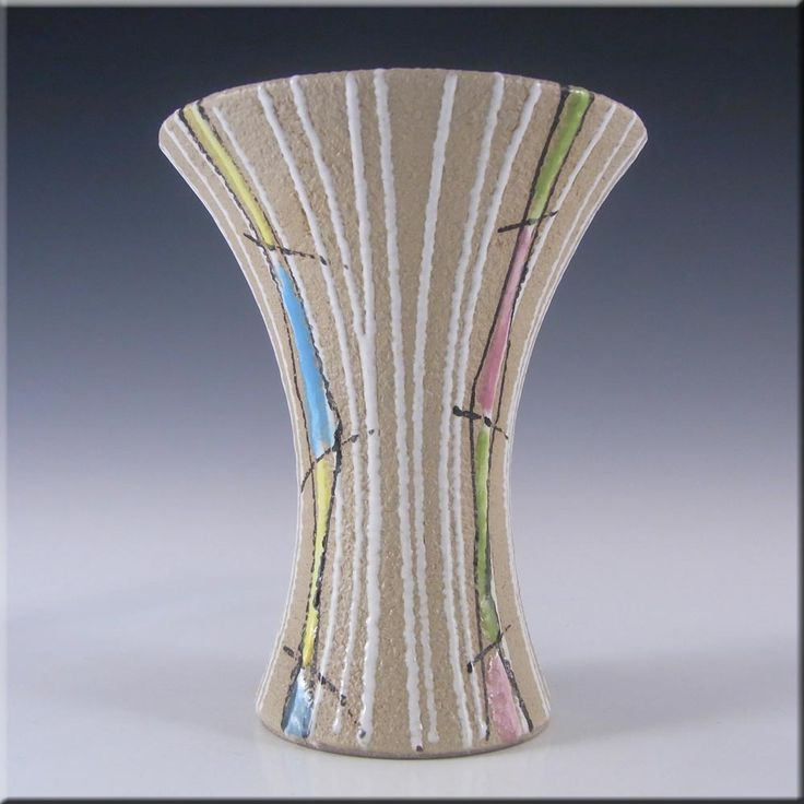 Fratelli Fanciullacci Italian Ceramic Textured Pottery Vase #4 - £30.00