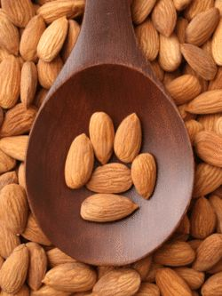 I like to have a few handfuls of almonds during the day. They provide a nice energy boost.