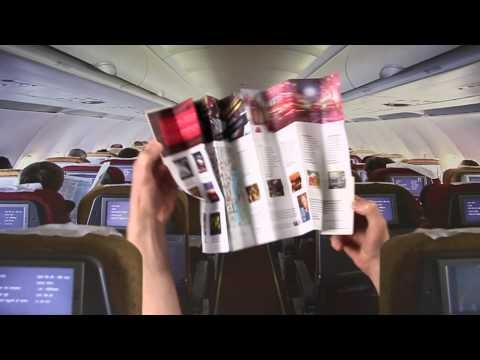 A video showcasing the Virgin Atlantic West End Z-CARD® which were distributed on all London- bound flights!