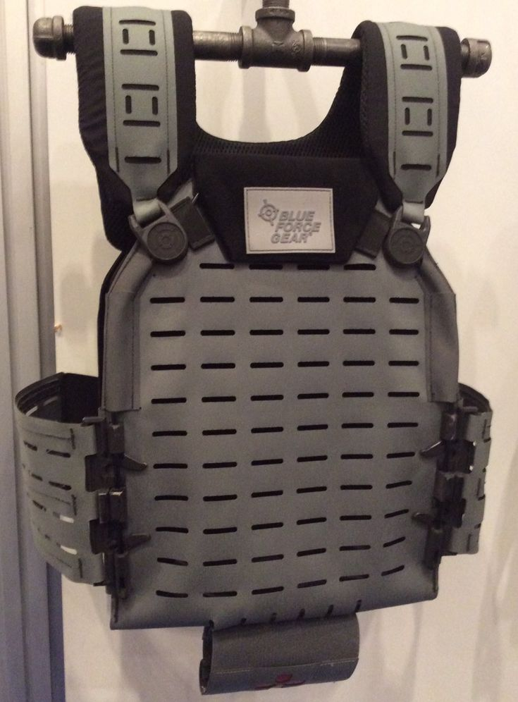 SHOT Show 17 - Blue Force Gear Klaux Plate Carrier - Soldier Systems Daily