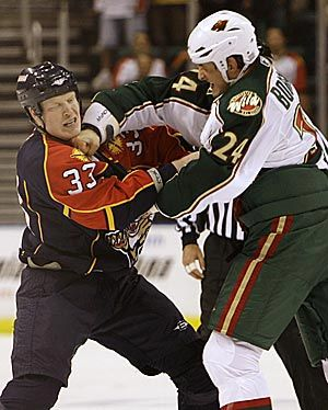 Please don't forget me - Although never the game's star - I stood up for him (The enforcer, the toughest job on any team. Wade Belak and Derek Boogaard)