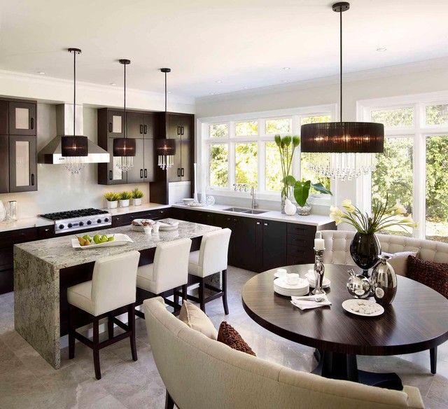 Round Kitchen Table Sets For 6 Modern Kitchen Design Contemporary Kitchen Modern Kitchen