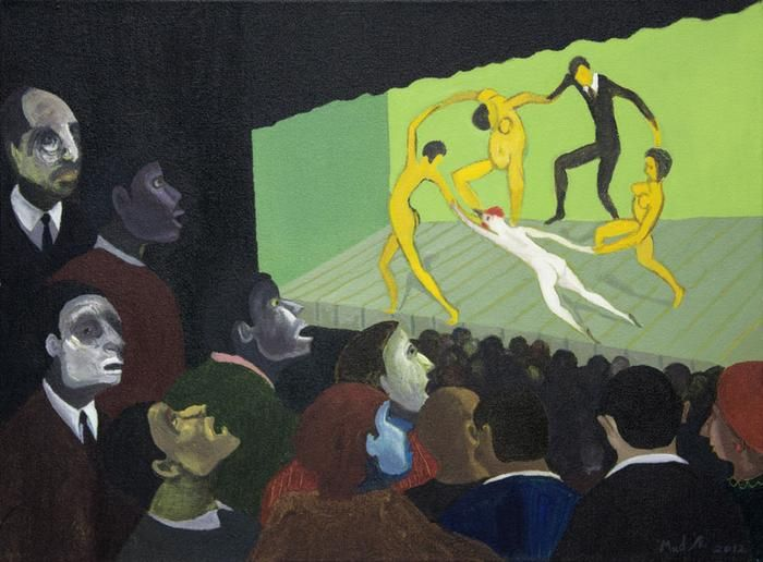 At the Theatre - SOLD
