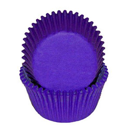 Dark Regal Purple Glassine Baking Cups Cupcake Liners 100 ct * You can get more details at : Baking Accessories