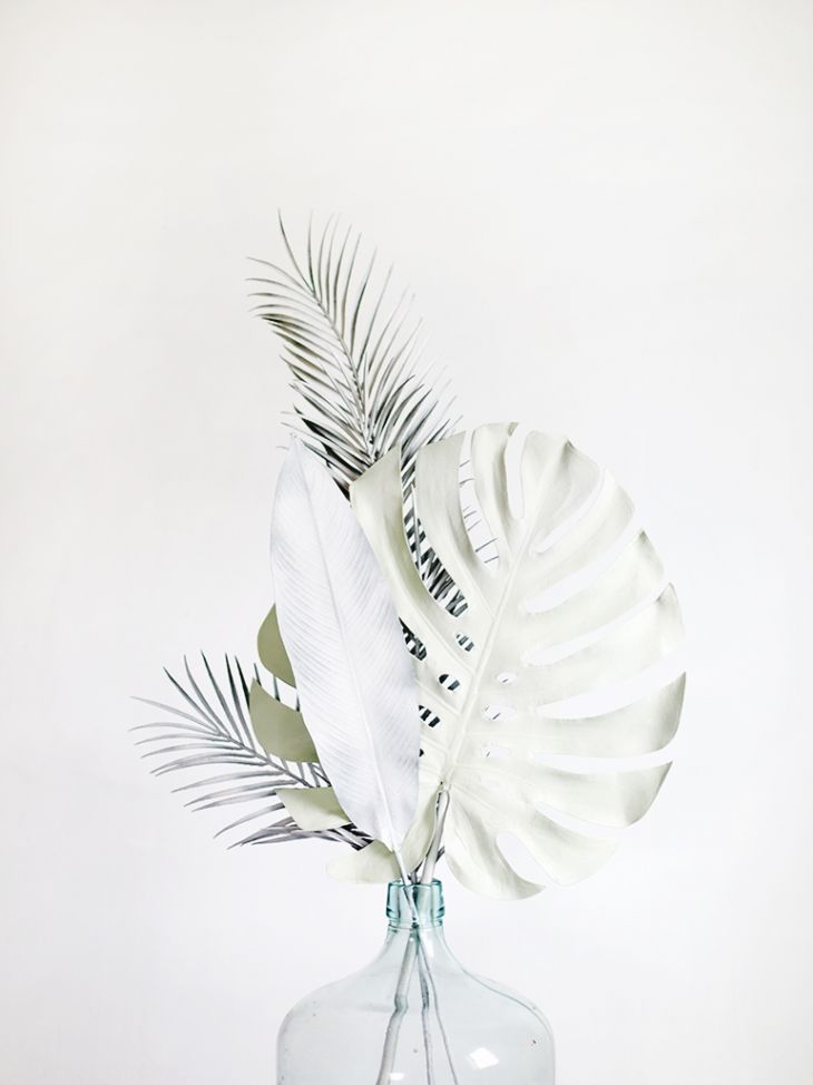 DIY - Painted palms by themerrythought.com