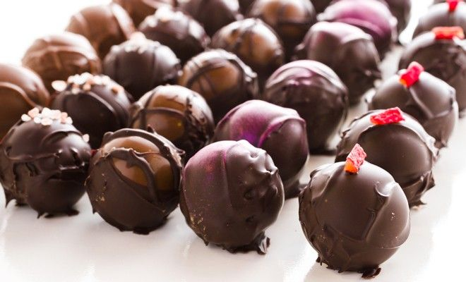 This dark chocolate and blood orange truffles recipe from Terry Walters' Eat Clean Live Well is a decadent but tiny treat, which means one a day - maybe!