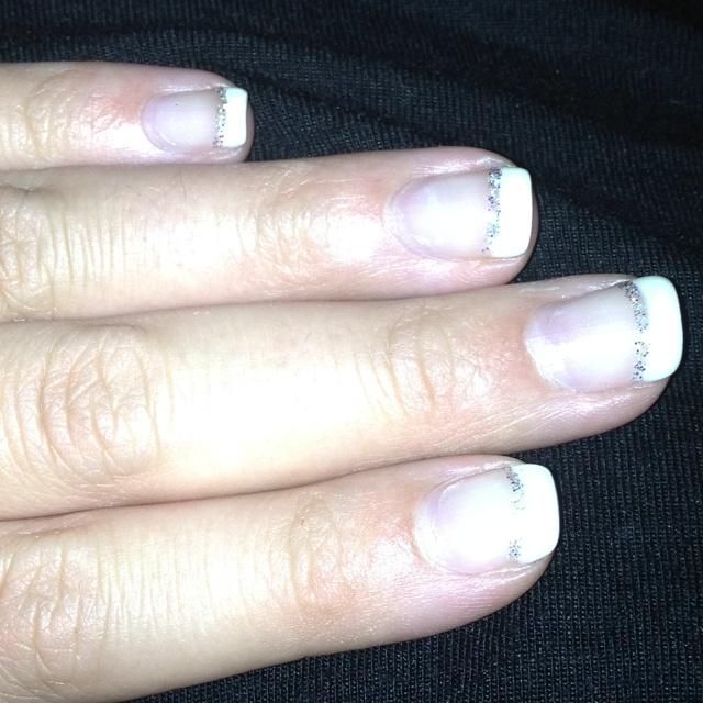 Wedding nails :)