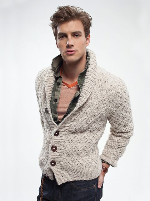 Ravelry: Grandson Cardigan pattern by Josh Bennett
