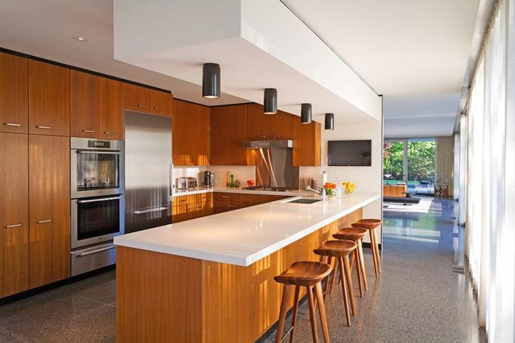 Mid Century In New York By Roy O. Allen. Modern Kitchen DesignsModern ...