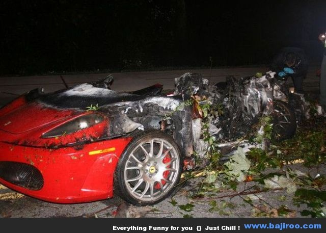 sports cars wrecked why u shouldnt speed pinterest sports cars cars and crazy cars