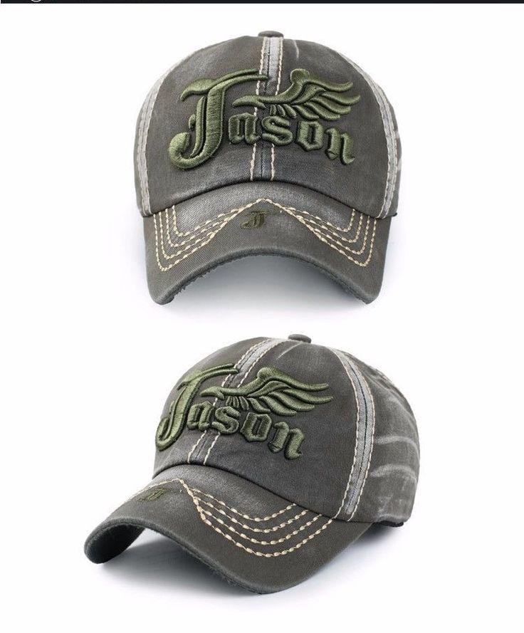 2017 New Men Blank Hats Retro Washed Embroidery Baseball Cap Casual Men Baseball #NEW