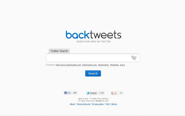 how to find an old tweet of yours