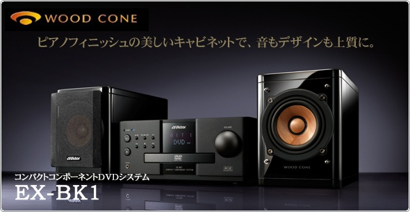 Wood Cone Speakers