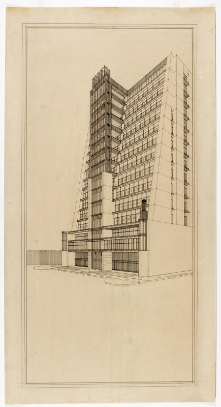 Antonio Sant'Elia #architettura #disegno #illustrazione