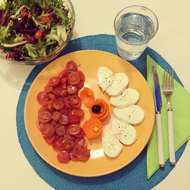 Giornata dura... mi dedico una cena multicolor...  #gio_rdd #rdd #robadadonne