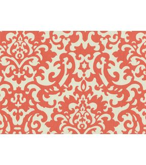 Home Decor Print Fabric- Waverly - Duncan Coral