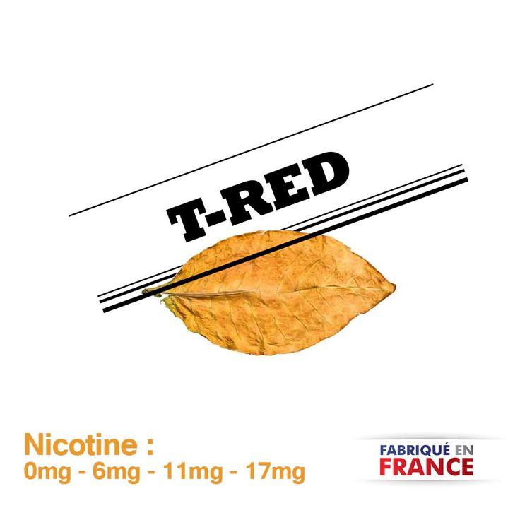 Eliquide T-Red myvap - cigarette electronique - e cigarette