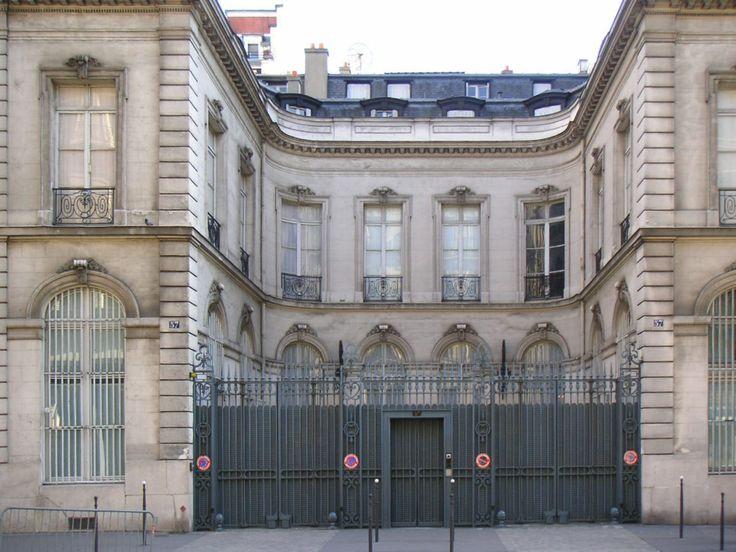 Domicile de Daniel wildenstein Paris