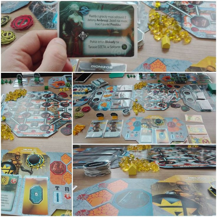 Cybermythica: Loom of Fate prototype (december 2016) Designer: Marcin Podsiadło, artist: Mateusz 'Draegg' Stanisławski  Board game mechanics tests completed and now we are focusing on the game graphic design. More info soon!