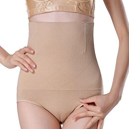 SUNNOW Femme Culotte Sculptante Cullotte Gainante Invisible Panty Minceur Avec Armature Body Gaine Amincissante Ventre Plat Taille Haute…