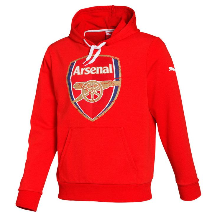 #Arsenal fc puma mens red football fan  team #overhead sweatshirt hoody #2014-15,  View more on the LINK: 	http://www.zeppy.io/product/gb/2/272100085421/