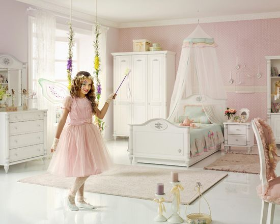 Kids bedroom fantasy - Romantic