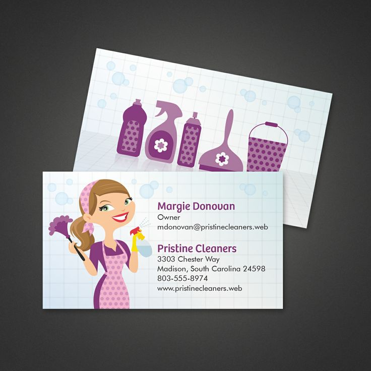 19 best business card ideas images on pinterest business cards cleaning services business card vistaprint reheart Choice Image