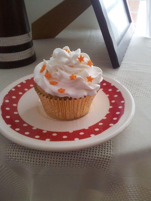 Cupcake de naranja....