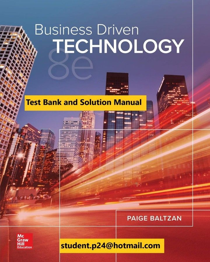 Pin On Test Banks And Solution Manual 2020 2021