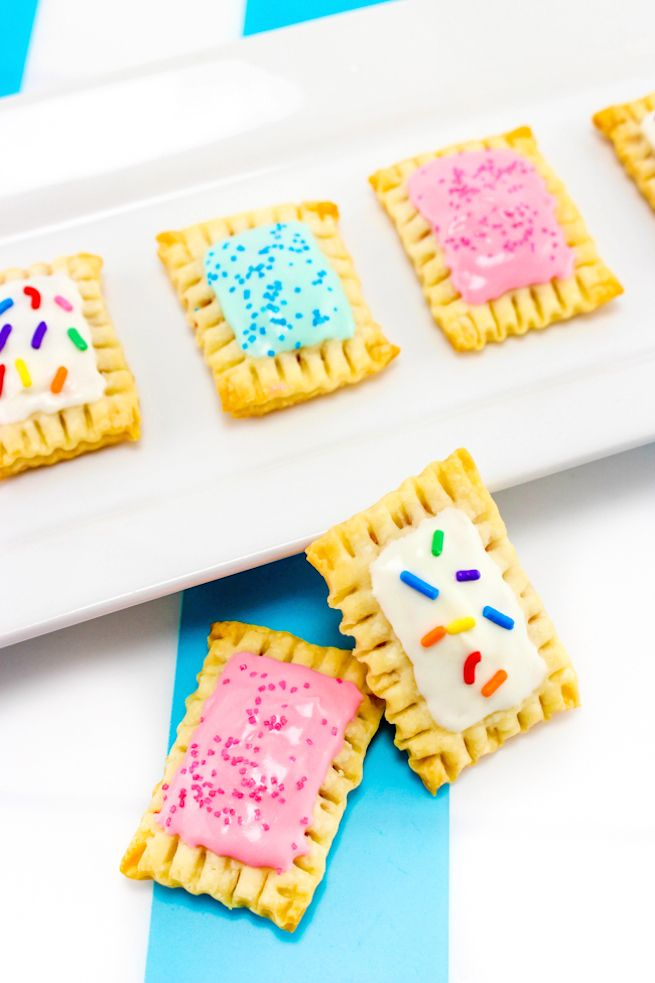 Itty Bitty DIY Pop Tarts