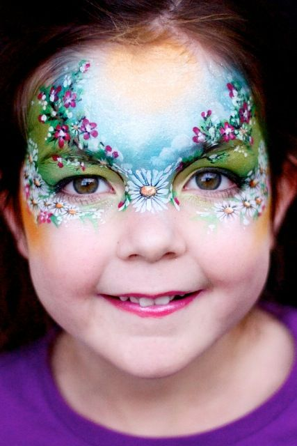 Favourite designs for girls - Face Painting Competition! ( competition closed) Winners Announced!