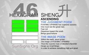"""46: 升 - Sheng """"Ascending"""""""
