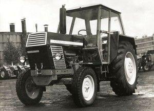 Ursus C385 o mocy 56,5 kW produkowany w latach 1969-1980 tractor