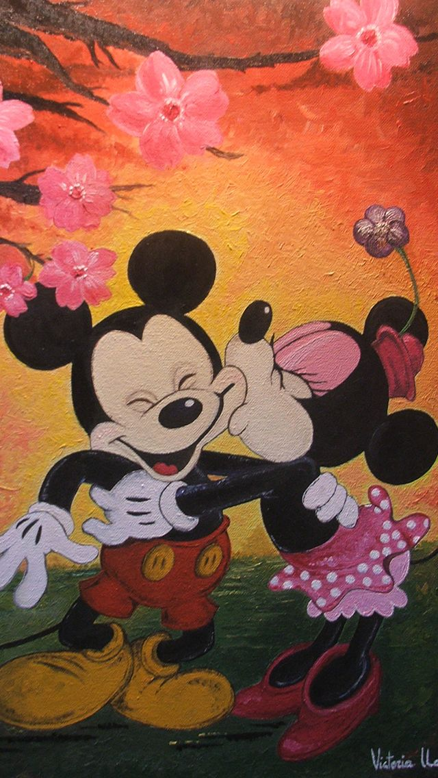 Mickey and minnie iphone backgrounds Mickey & Minnie