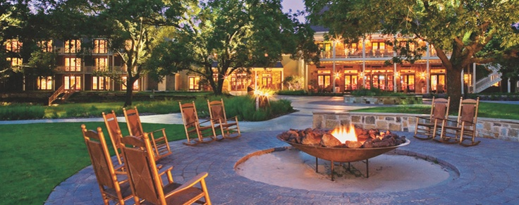Lost Pines Hyatt.  On our list for 2013 or 2014.  Nice resort hotel in Bastrop only a few hours from Houston, recommended by friends.  Lazy river and close to Austin if we want to drive in for nightlife.