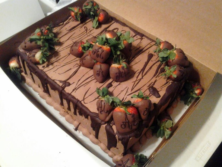 Sheet Cake & 804 best Cakes images on Pinterest | Anniversary cakes Decorating ...