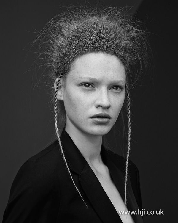 View Akin Konizi's full collection for the British Hairdressing Awards 2014