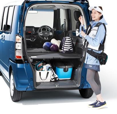 Honda N BOX+ (practical, yes?)