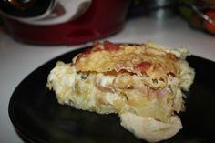 gratin de courgette et pomme de terre au chèvre dite la chevriflette ( cookeo)