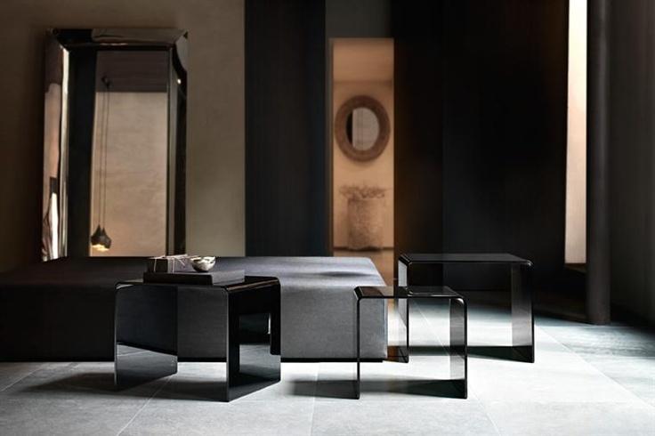 Rialto Tris Glass Coffee Table