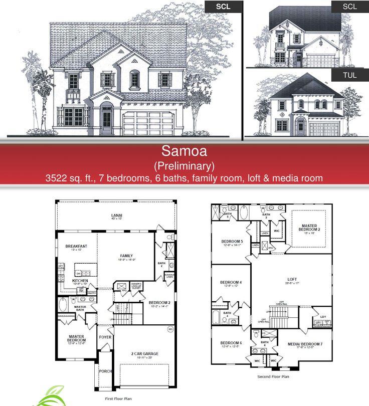 West haven samoa model and floor plan in davenport fl for Beazer homes floor plans