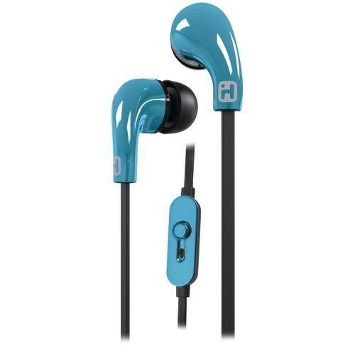 Ihome Noise-isolating Earbuds With Microphone (blue) (pack of 1 Ea)