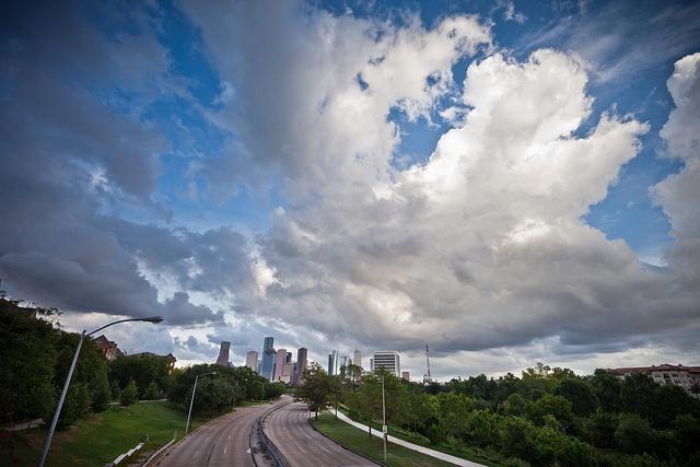 View of Downtown Houston.: Photo